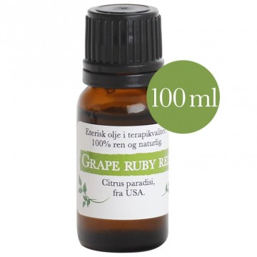 100ml Grapefrukt ruby red (Citrus paradisi) fra USA