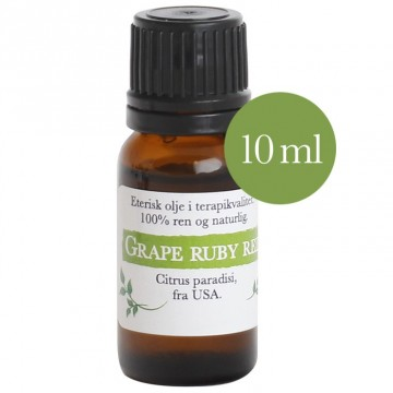 10ml Grapefrukt ruby red (Citrus paradisi) fra USA