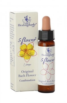 Five Flower akutt-essens 10ml, blomstermedisin