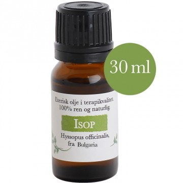 30ml Isop (Hyssopus officinalis) fra Bulgaria