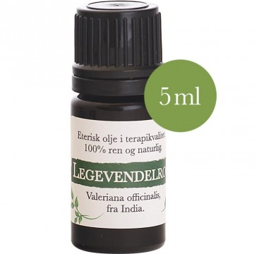 5ml Legevendelrot (Valeriana officinalis) fra India