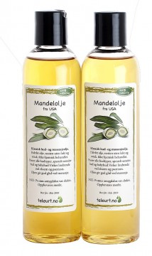 Mandel 500 ml (2*250ml) USA