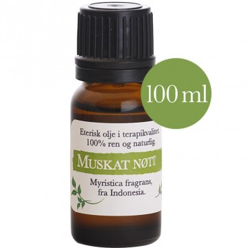 100ml Muskatnøtt (Myristica fragrans) Indonesia