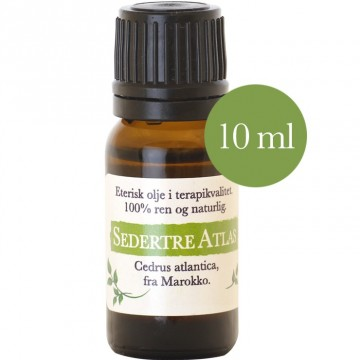 10ml Sedertre atlas (cedrus atlantica) fra Marokko