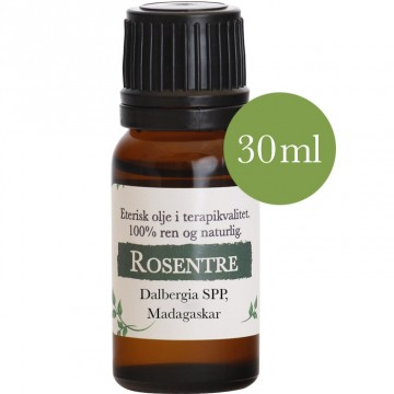 30ml Rosentre (Dalbergia spp) fra Madagaskar