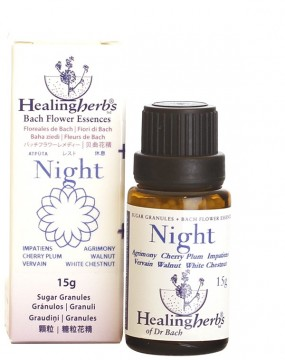 Night Remedy granulat blomstermedisin